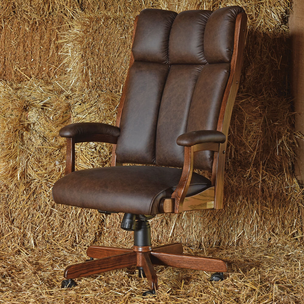River Woodworking CE58 Clark Executive Chair