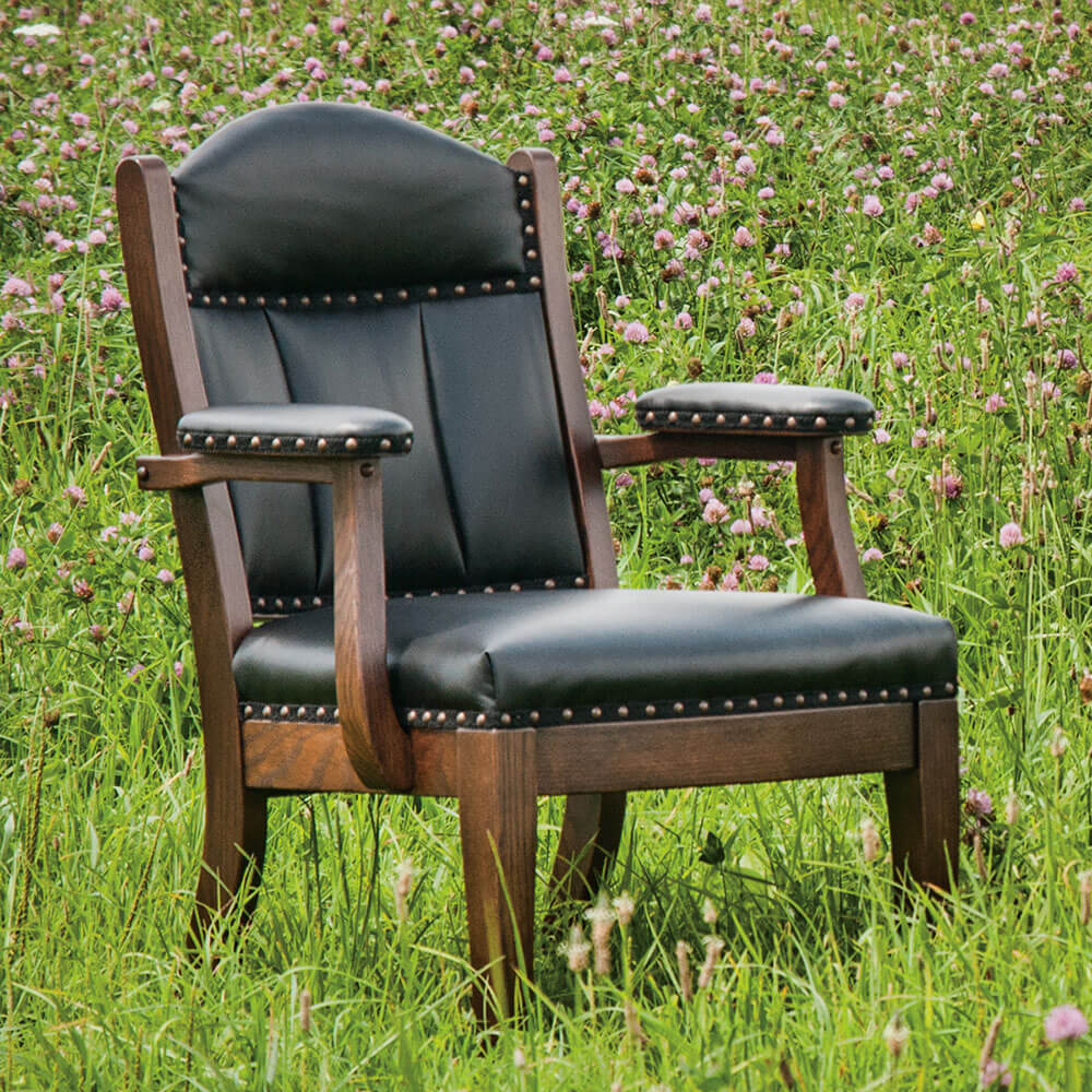 River Woodworking CLAL81 Low Back Client Chair