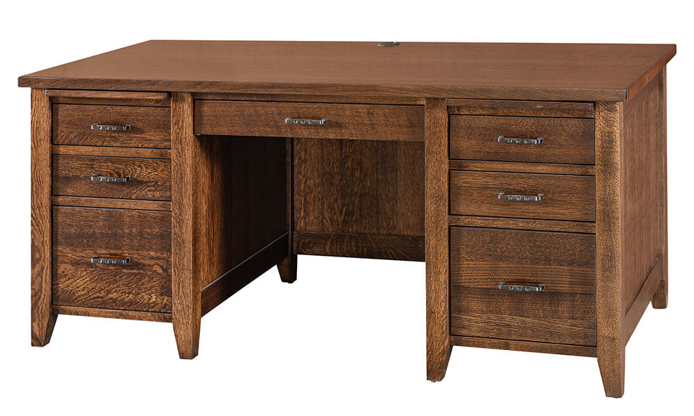 River Woodworking Country Squire Desk