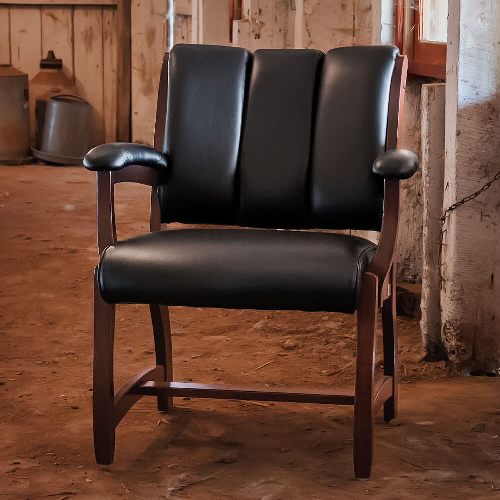 River Woodworking EL83 Edelweiss Client Chair