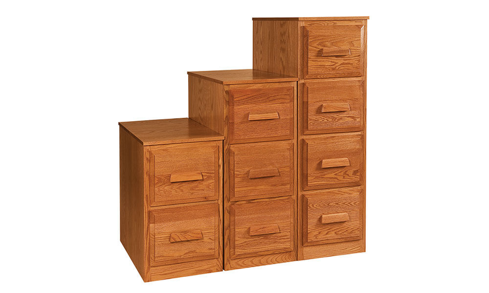River Woodworking Farmers File Cabinets