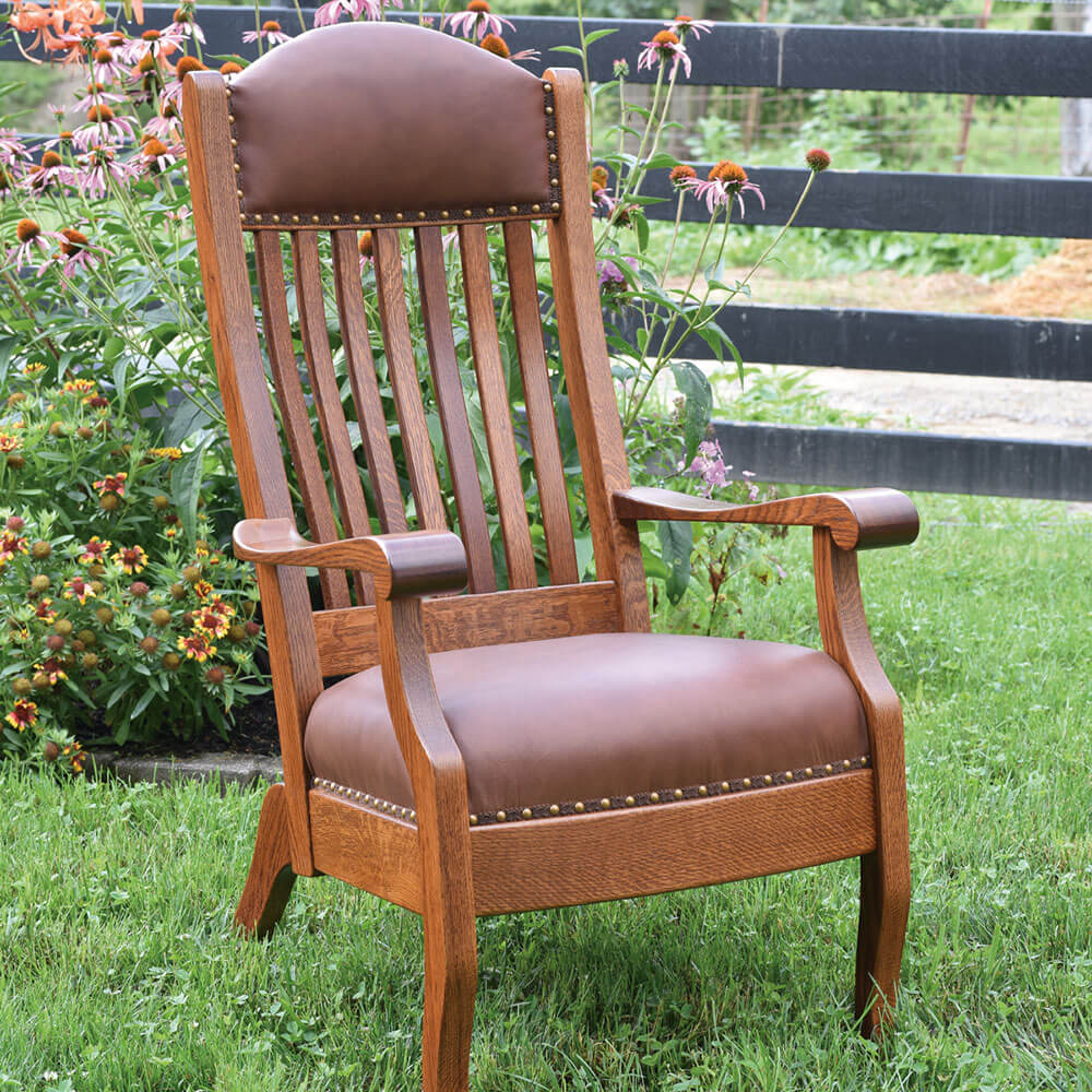River Woodworking KLC95 King Lounge Chair