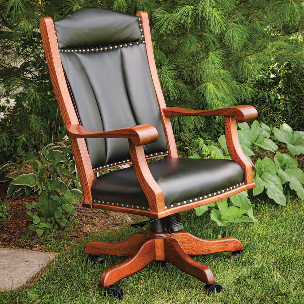 River Woodworking OC50 Office Arm Chair