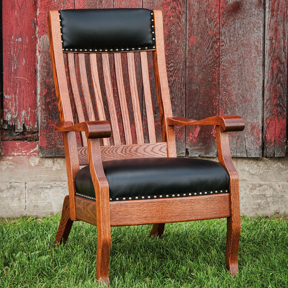 River Woodworking QLC100 Queen Lounge Chair